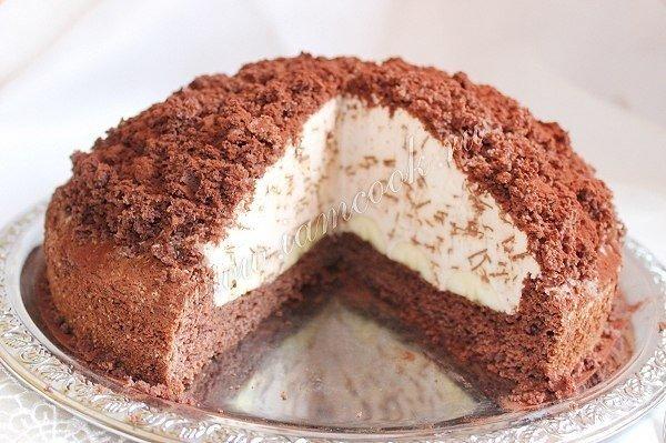 Торт «Норка крота».