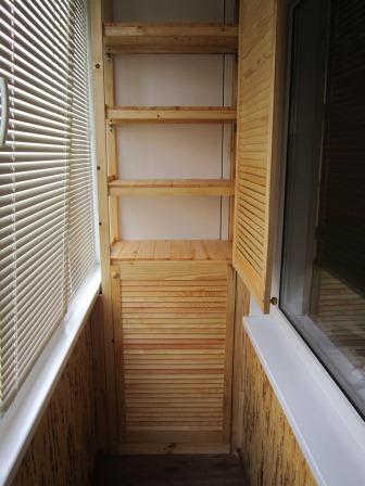 Системы хранения и шкафы на балкон, 30 идей. обсуждение н....