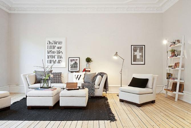 Скандинавский стиль в интерьере: даешь минимализм!