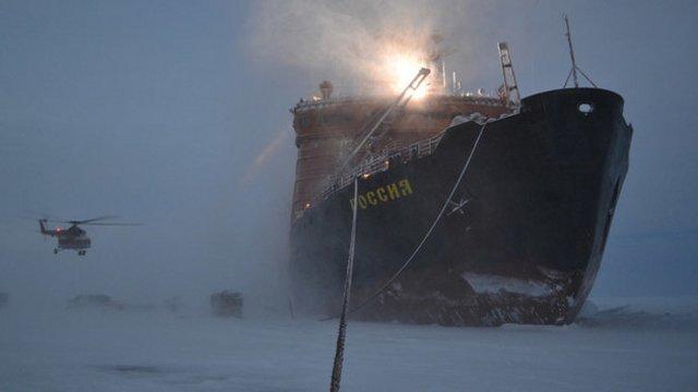 Заход кораблей ВМС РФ на базу в Арктике вызвал истерию в НАТО