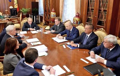 Путин призвал выйти на положительную динамику экономического роста