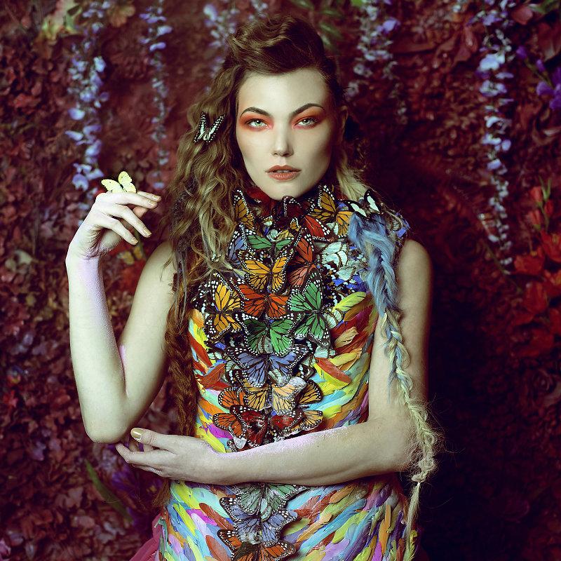 Фотопрект «Таинственный сад». Потрясающие сюрреалистические портреты фотографа Даниэлы Мэджик - 14