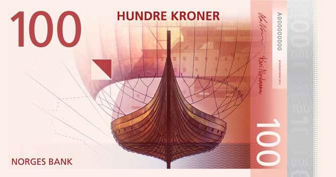 новые норвежские банкноты 12