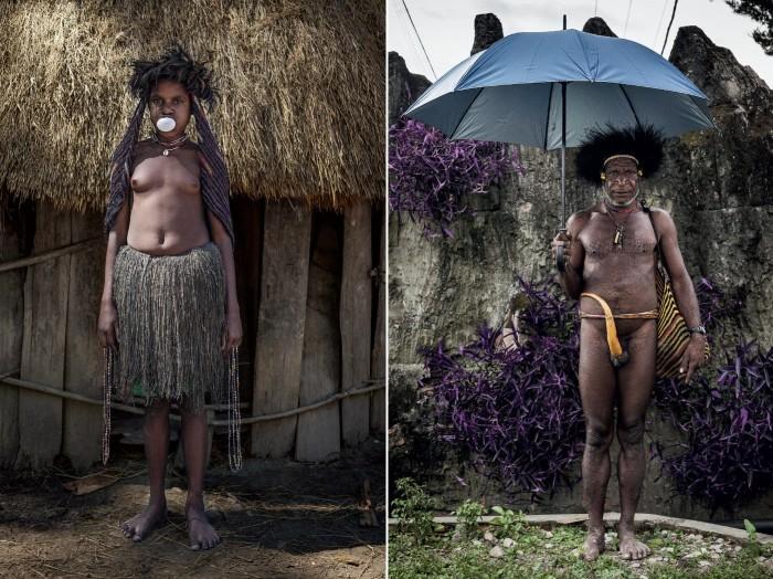 Представители племени Дани