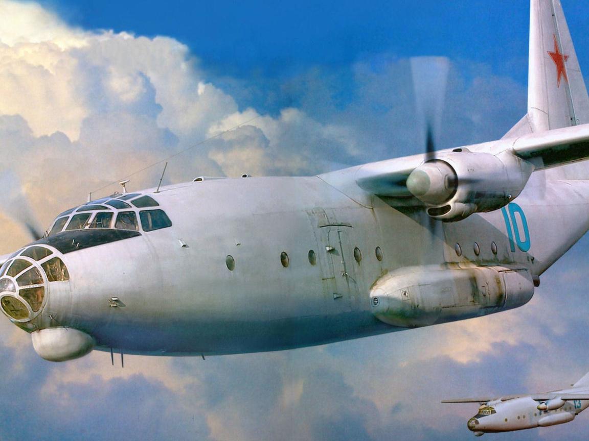 «Восьмерка» – первый «летающий кит» Антонова. К 60-летию первого полета
