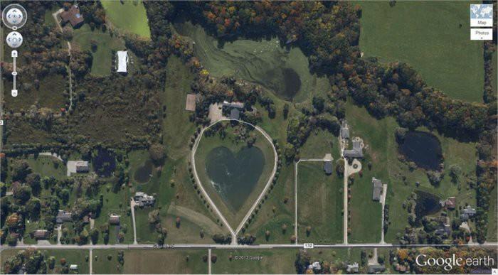 15 сюрпризов, которые зафиксировал спутник Google Earth google, снимки, спутник