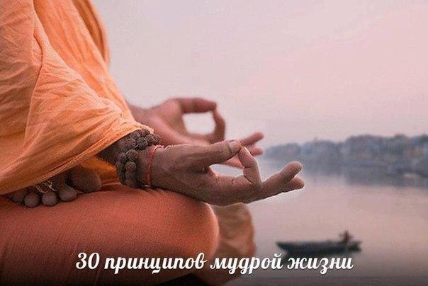 30 принципов мудрой жизни