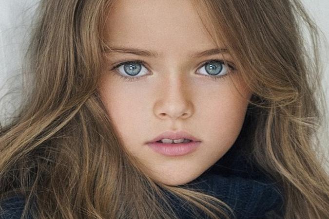 Девятилетнюю россиянку признали самой красивой девочкой в мире