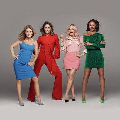 Группа Spice Girls едет в тур