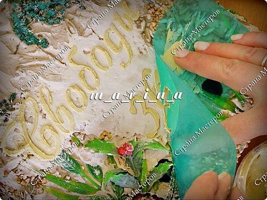 Декор предметов Мастер-класс Ассамбляж Почтовый ящик в технике Терра МК Гипс Краска Материал природный фото 23