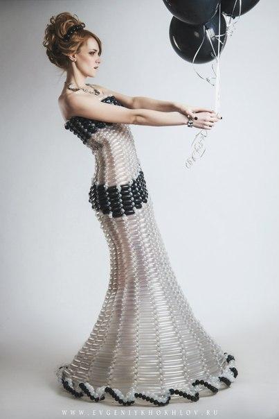 Необычное платье своими руками