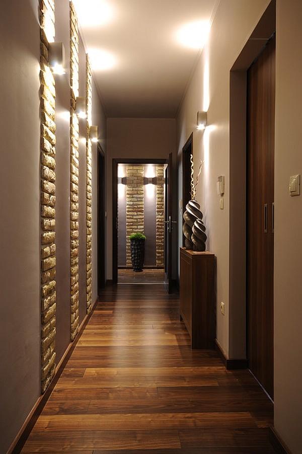 Узкий коридор идеи дизайна