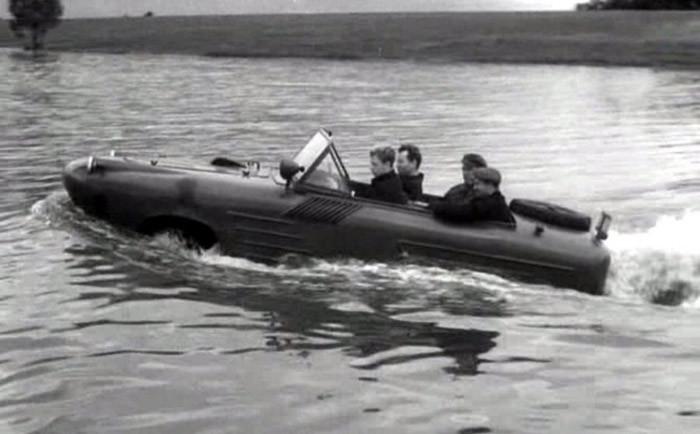 Как создавался первый в мире автомобиль-амфибия