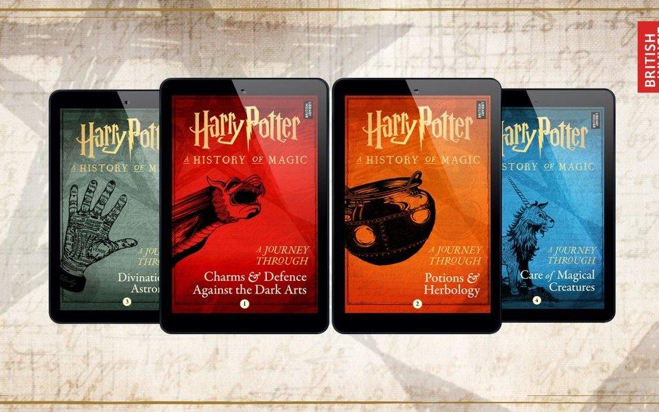 Скоро выйдут 4 новые книги о вселенной Гарри Поттера