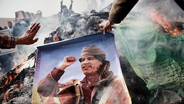 """Telegraph: """"пророческое предупреждение"""" Каддафи подтвердилось"""""""