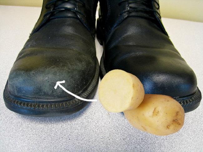 как чистить обувь