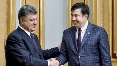 Порошенко может назначить Саакашвили премьер-министром