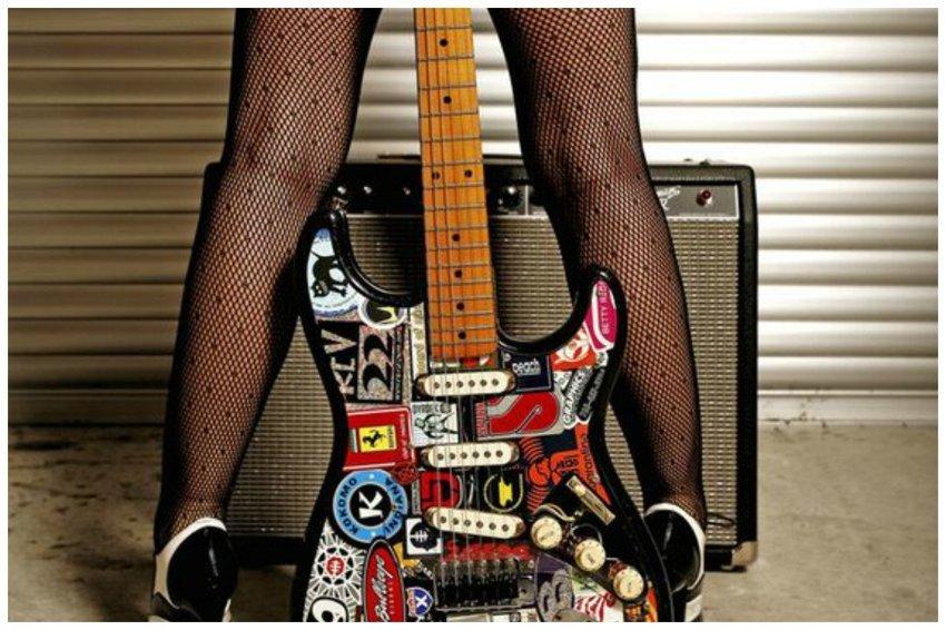 Вдогонку к сумасшедшим гитар…