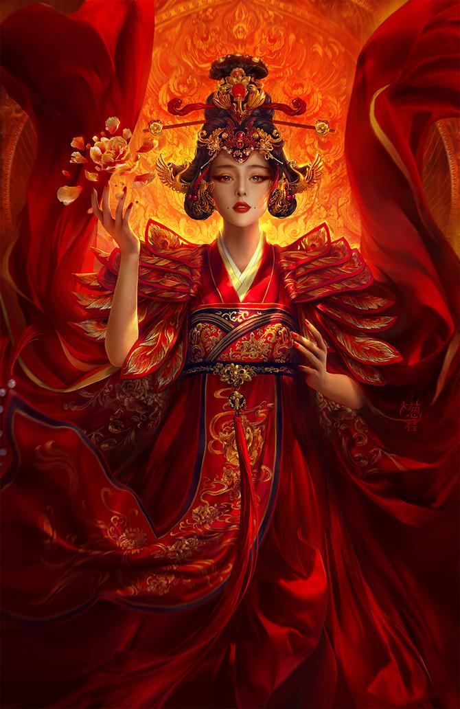 Красивые и нежные работы китайского художника под ником xzfshao