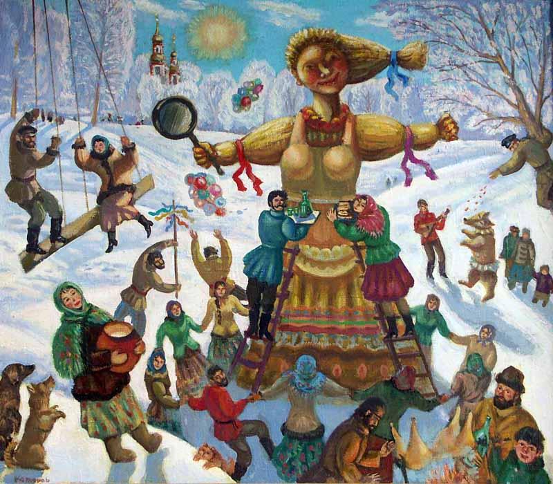 Картинки плакаты на проводы зимы
