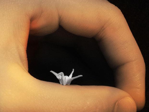 Крошечные оригами от Муи-Линг Дэ