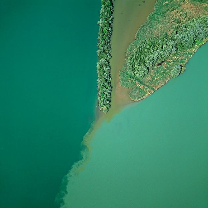 Сногсшибательные фото водоемов Земли с воздуха