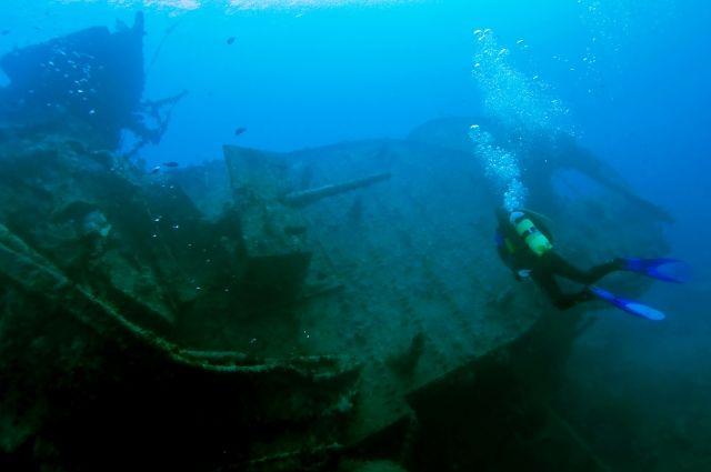 Дайверы сообщили, что нашли пароход с сокровищами у берегов Крыма