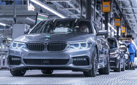 В России нашли дефектные BMW 5-й серии и X5
