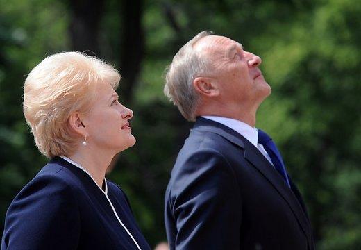 У президентов Латвии и Литвы наметились разногласия в отношении к России