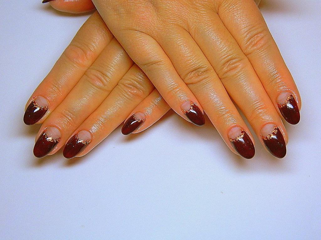Маникюр на овальных ногтях гель лаком