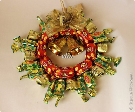 Мастер-класс Свит-дизайн Упаковка Новый год Разные сладкие работы Бумага Материал оберточный Проволока Продукты пищевые фото 30