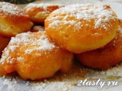Пончики на кефире (фото)