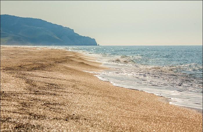 7. Дикие лазурные пляжи Крыма достопримечательности, крым
