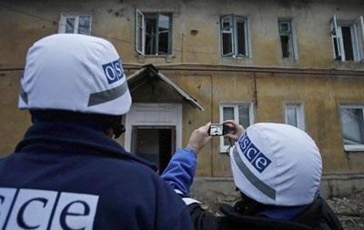 В представителей миссии ОБСЕ на Донбассе кинули артиллерийский снаряд