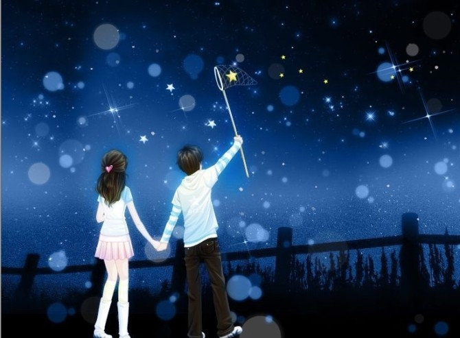 Я подарю тебе звезду на самом чистом небосклоне