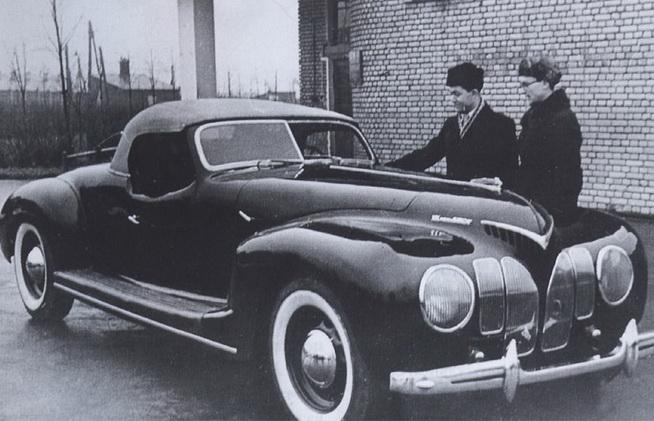 ЗИС-101-Спорт. Спортивный советский автомобиль