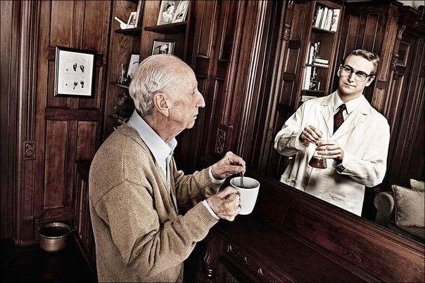 Зеркало помнит - фотопроект Tom Hussey. Трогательно... 4