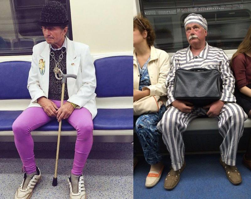20 восхитительных модников российского метро