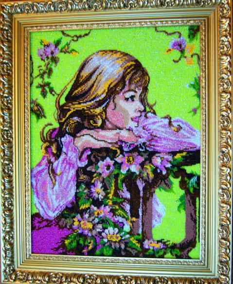 Картины из бисера своими руками