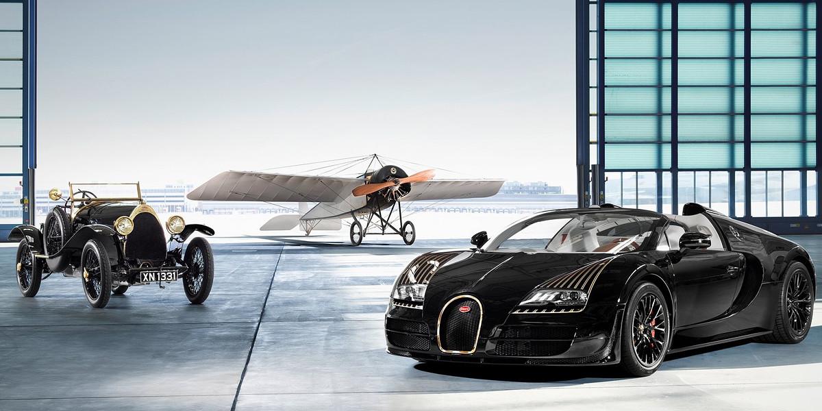 История создания и успеха Bugatti Veyron