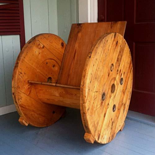 Кресло из подручных материалов своими руками