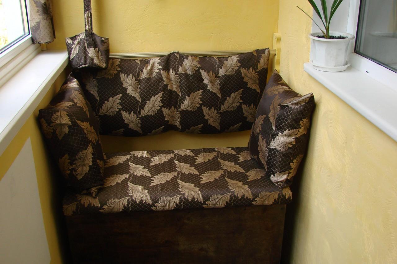 Пошаговое изготовление встроенного диванчика для балкона..