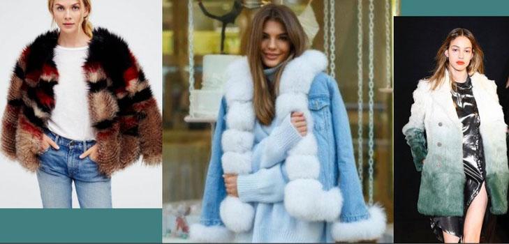 5 стильных меховых курток для зимы 2018/19