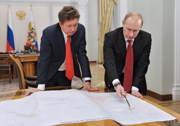 Глава «Газпрома» обсудит транзит газа через Украину