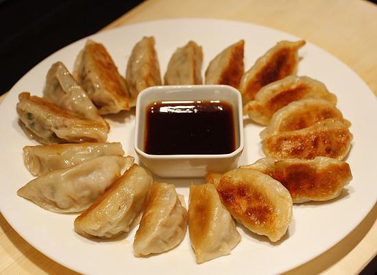 Китайские пельмени гедза рецепт