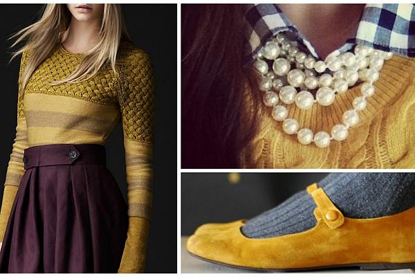 С чем лучше всего смотрится модный желтый: 5 идеальных сочетаний