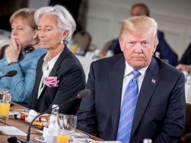 У Трампа обнаружилась необычная вредная привычка