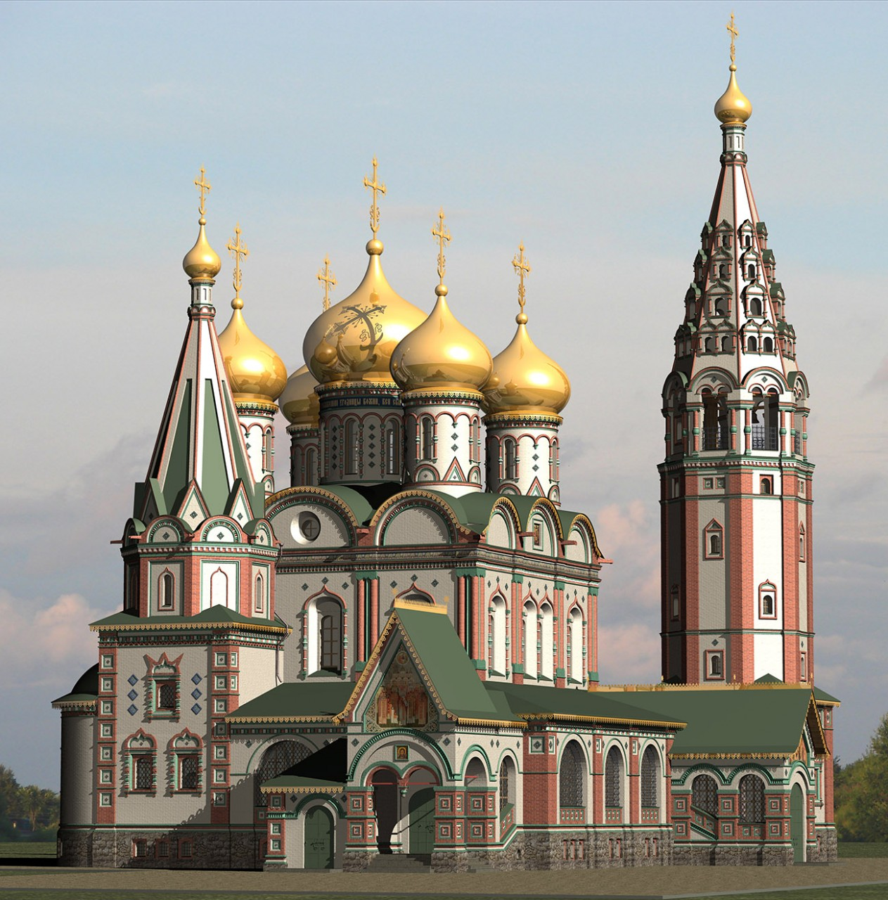Русский храм должен быть русским