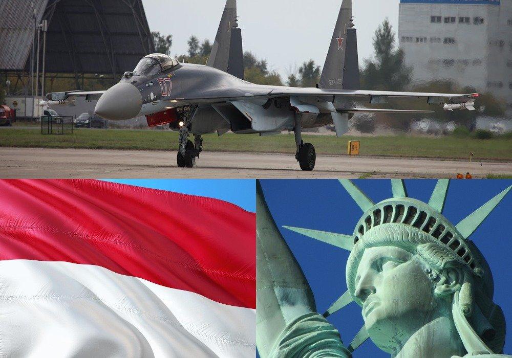 США хотят купировать по всем направлениям: эксперт о приостановке Индонезией договора по поставкам Су-35