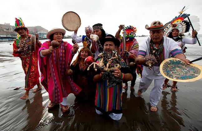 Перуанские шаманы предсказали продолжение несгибаемой политики Путина в новом году